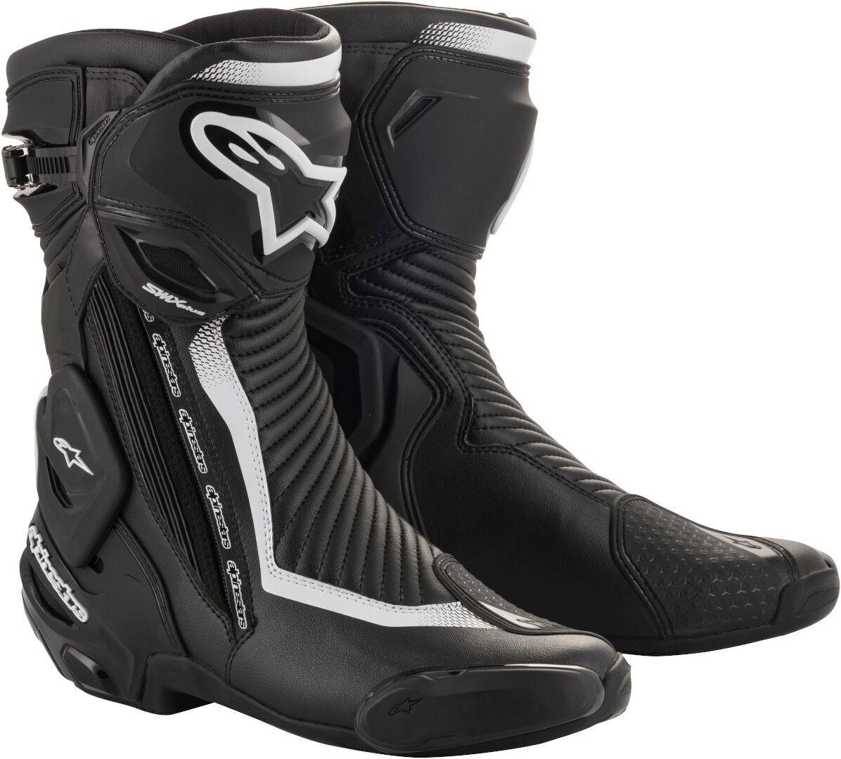 Alpinestars Stella SMX Plus V2 Ladies Motorcycle Boots Black White 39