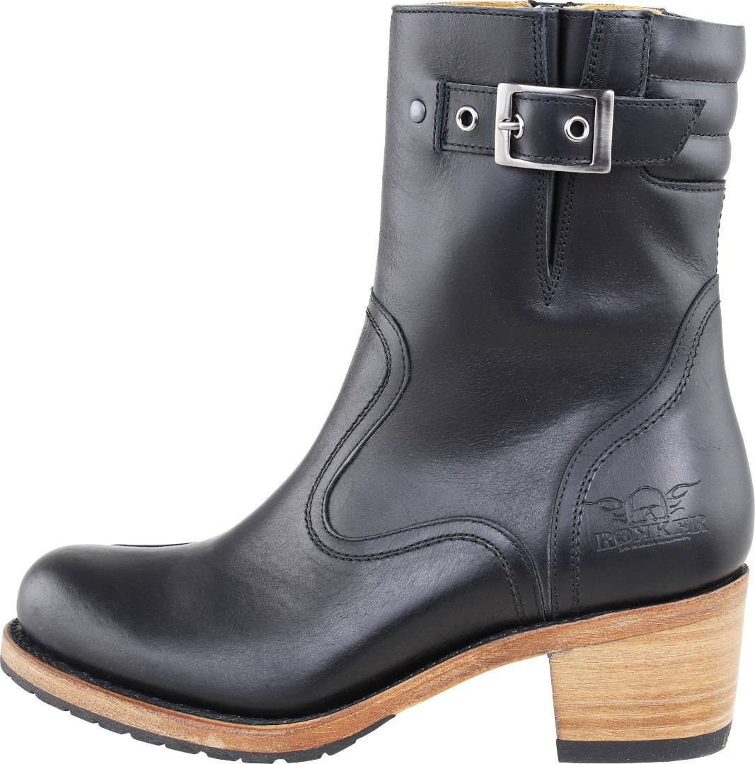 Rokker Boot Collection Highway Ladies Motorcycle Boots  - Size: 38