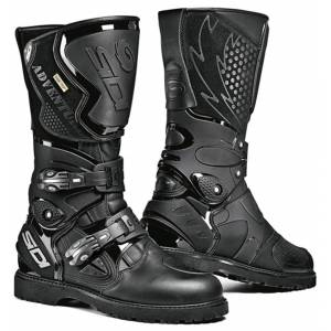 Sidi Adventure Gore-Tex Motorcycle Boots Black 43