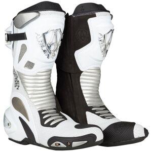 Arlen Ness Xaus-Evo Motorcycle Boots White 45
