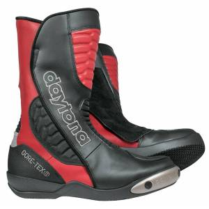 Daytona Strive Gore-Tex Motorcycle Boots Black Red 41