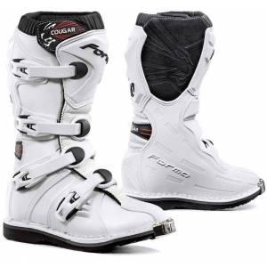Forma Cougar Kid's Motocross Boots White 37