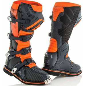 Acerbis X-Pro V. Motocross Boots Black Orange 40
