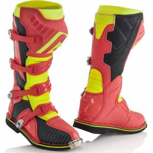Acerbis X-Pro V. Motocross Boots Red Yellow 42