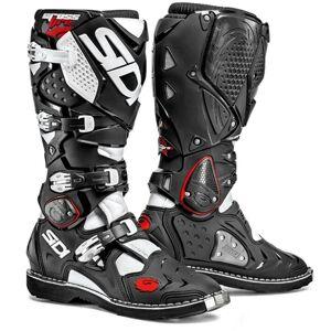Sidi Crossfire 2 2016 Motocross Boots Black White 48