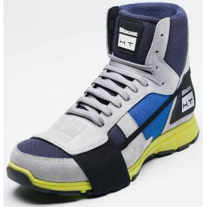 Blauer Sneaker HT01 Shoes Blue Yellow 45