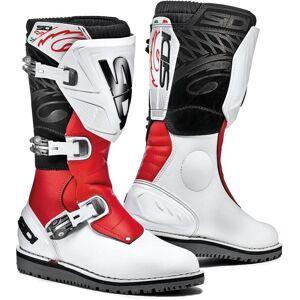 Sidi Trial Zero.1 Boots White Red 43