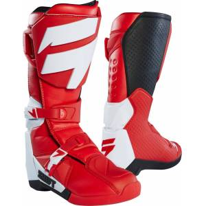 Shift WHIT3 Motocross Boots Red 43