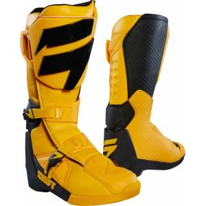 Shift WHIT3 Motocross Boots Yellow 49
