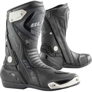 Büse GP Race Tech Motorcycle Boots Black 43