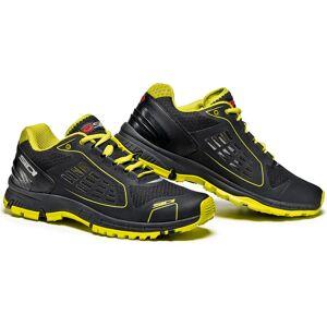 Sidi Approach Shoes Black Yellow 39