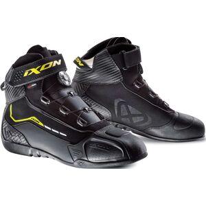 Ixon Soldier Evo Motorcycle Shoes Black Yellow 40