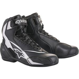 Alpinestars SP-1 V2 Motorcycle Boots Black White 48