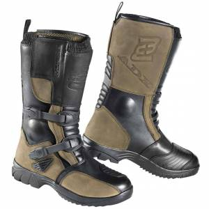 Bogotto ADX-E waterproof Motorcycle Boots Black Brown 46