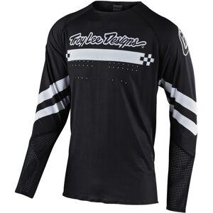 Lee Troy Lee Designs SE Ultra Factory Motocross Jersey Black White 2XL