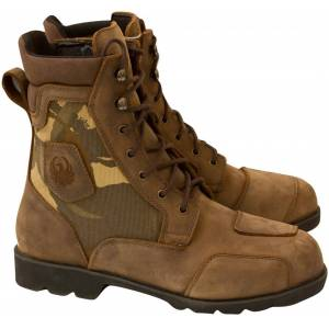 Merlin G24 Borough Camo Motorcycle Boots  - Size: 41