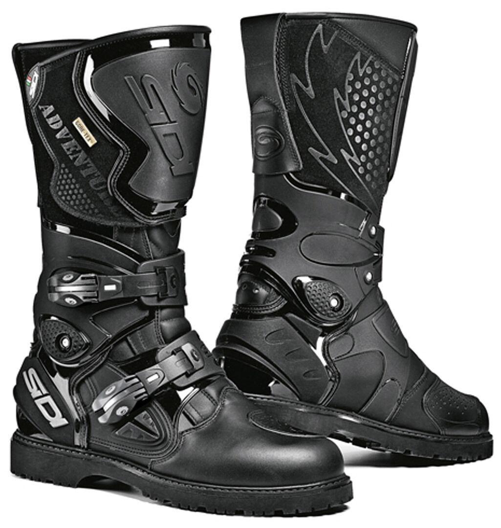 Sidi Adventure Gore-Tex Motorcycle Boots Black 43