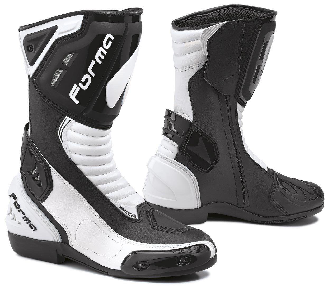 Forma Freccia Motorcycle Boots Black White 45