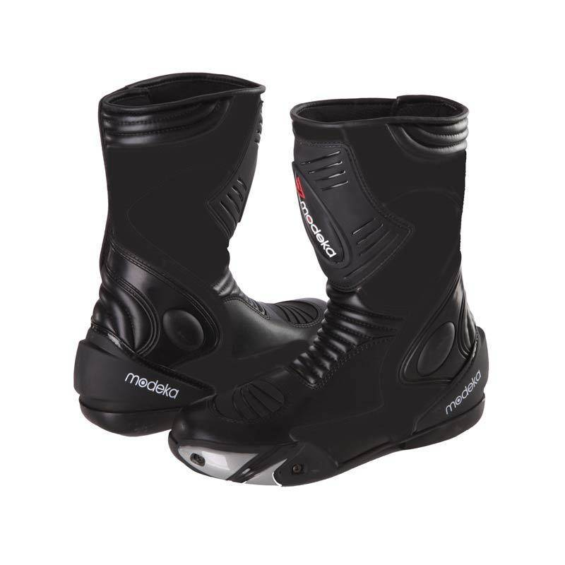 Modeka Donington 2 Motorcycle Boots Black 44