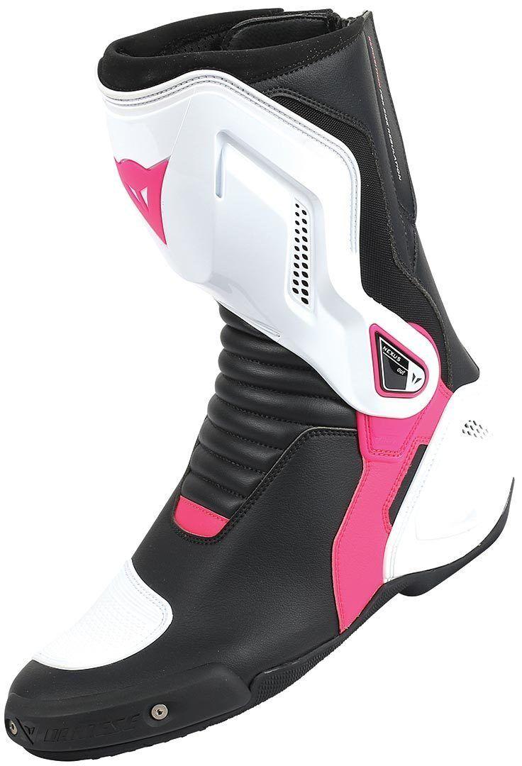 Dainese Nexus Ladies Motorcycle Boots Black White Purple 37