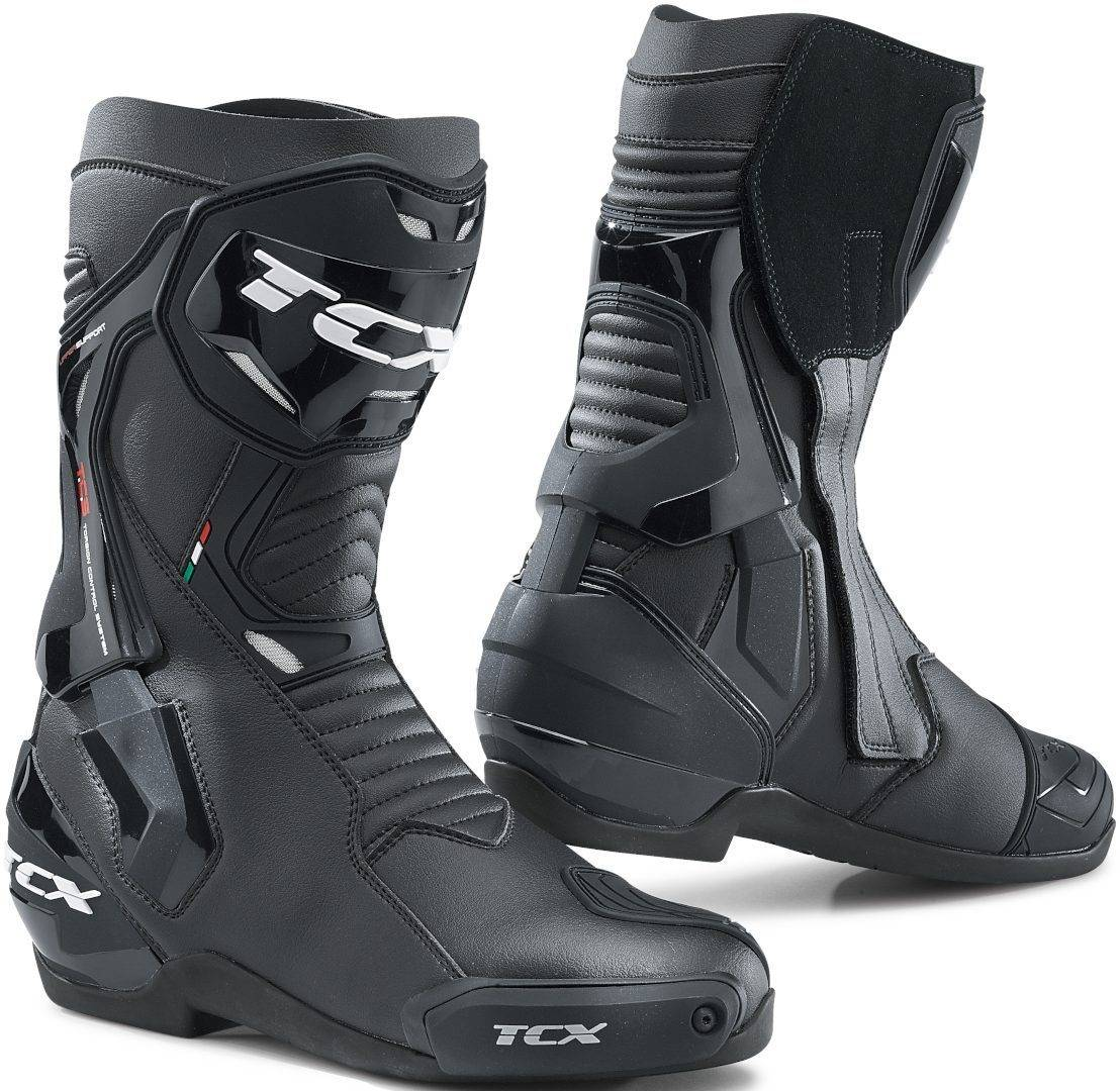 TCX ST-Fighter Motorcycle Boots Black 43