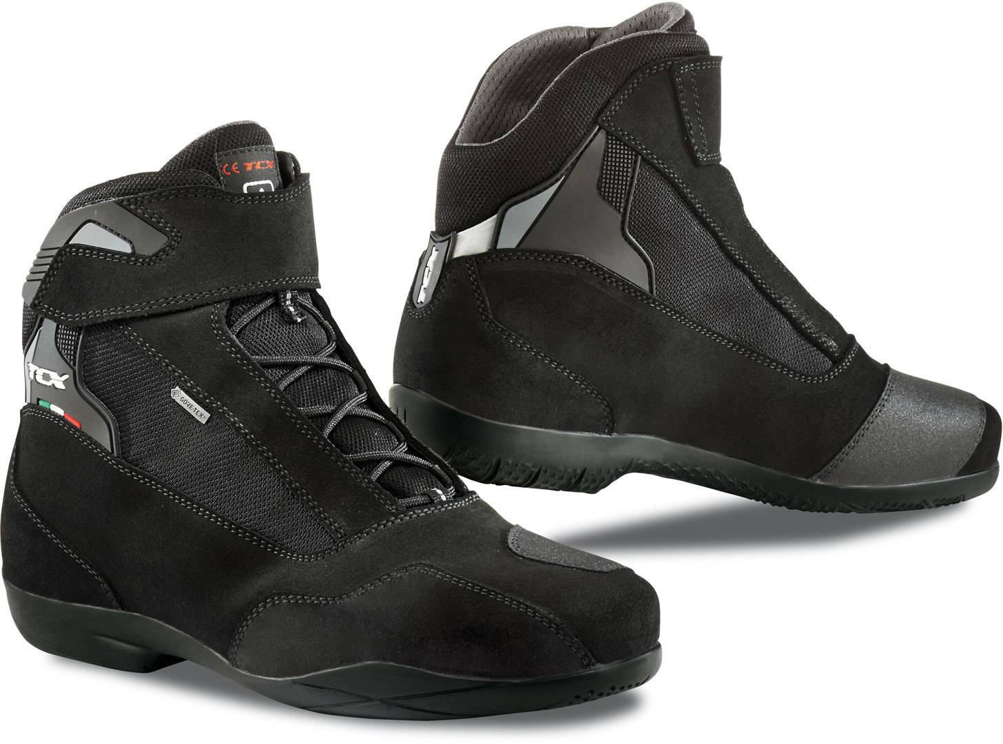 TCX Jupiter 4 Gore-Tex Motorcycle Shoes Black 48