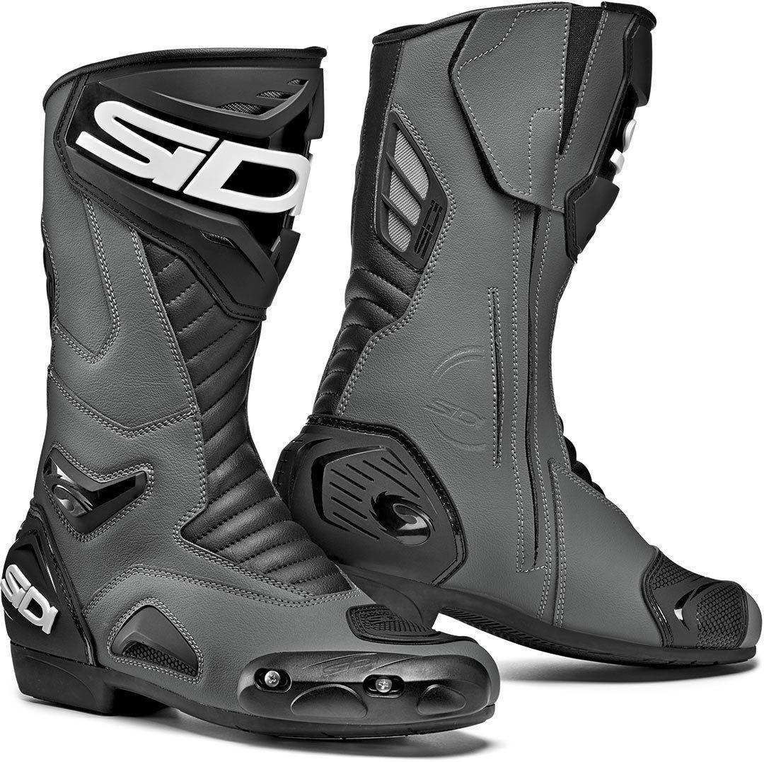 Sidi Performer Motorcycle Boots Black Grey 47