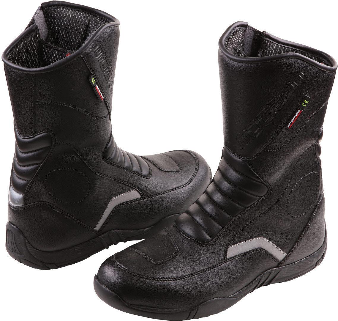 Modeka Blaker Motorcycle Boots Black 42