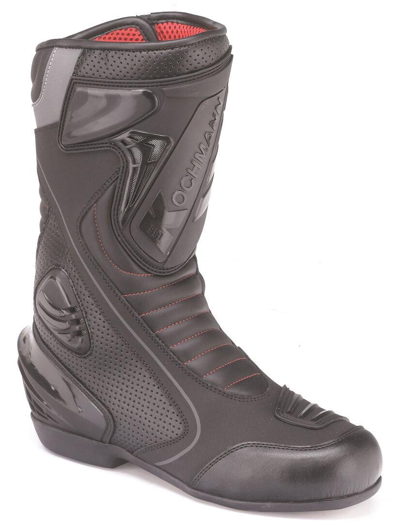 Kochmann Milano Waterproof Motorcycle Boots Black 48