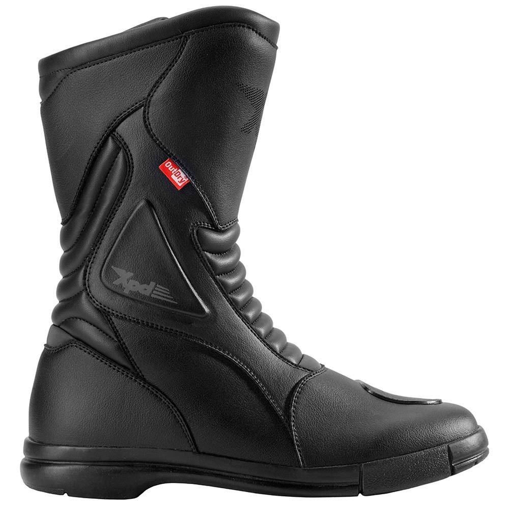 XPD X-Trail OutDry Motorcycle Boots Black 41