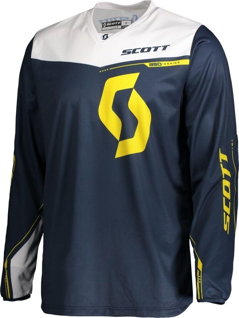 Scott 350 Dirt Motocross Jersey 2020 Blue Yellow L