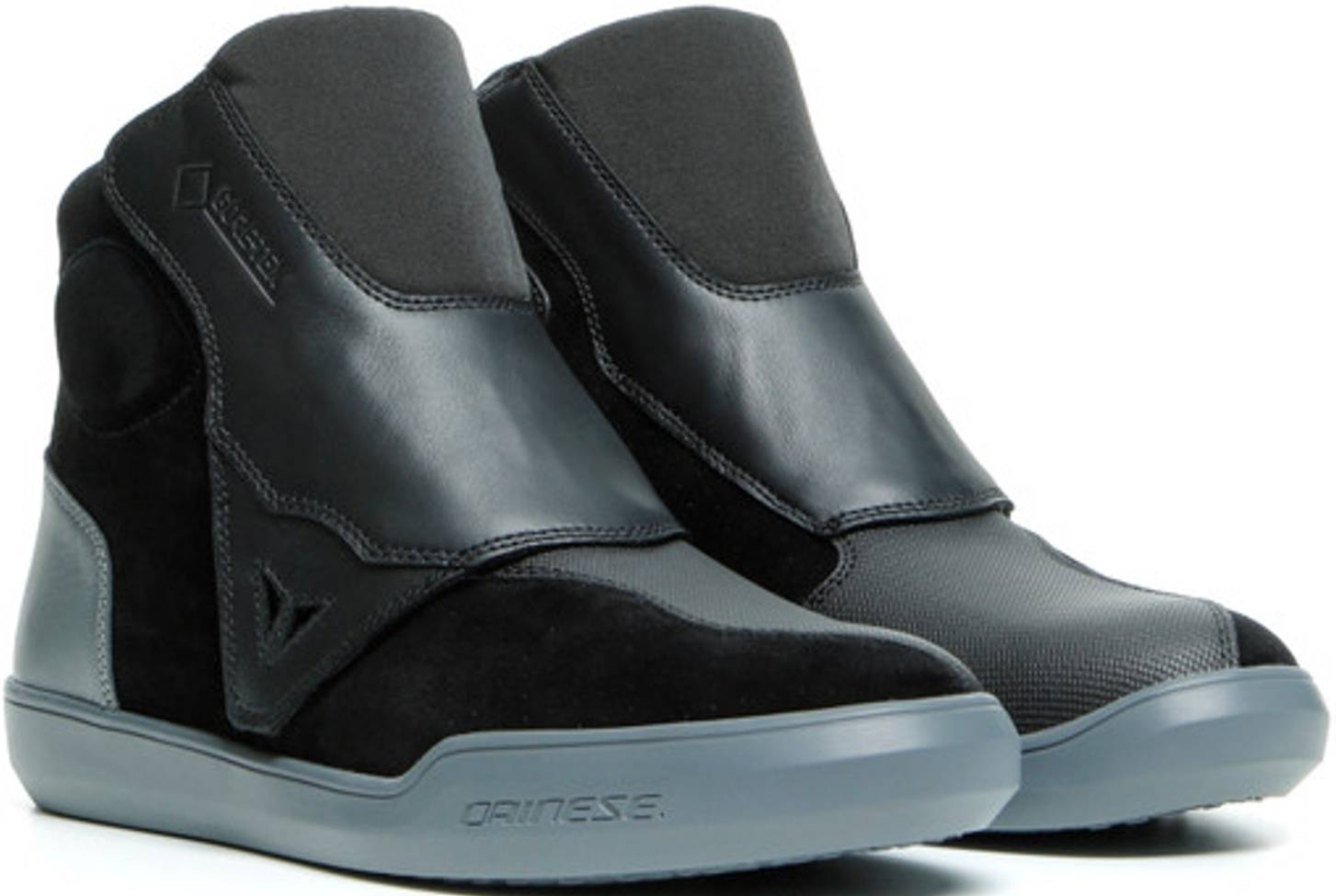 Dainese Dover Gore-Tex Motorcycle Shoes Black White 47