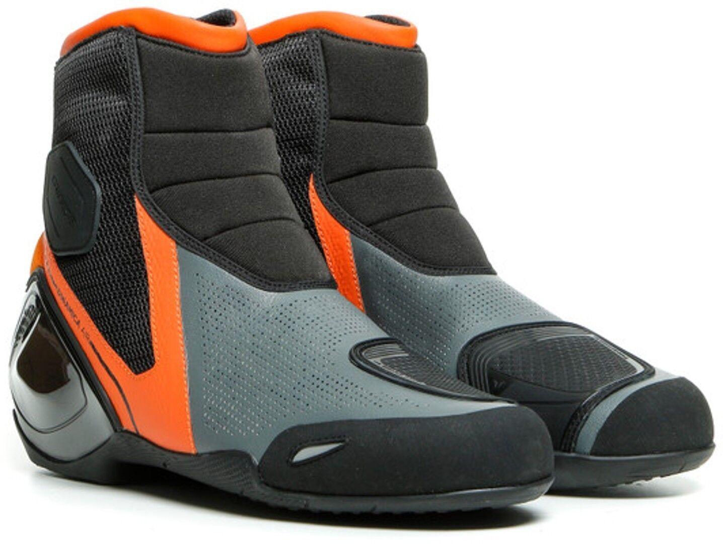 Dainese Dinamica Air Motorcycle Shoes Black Orange 40
