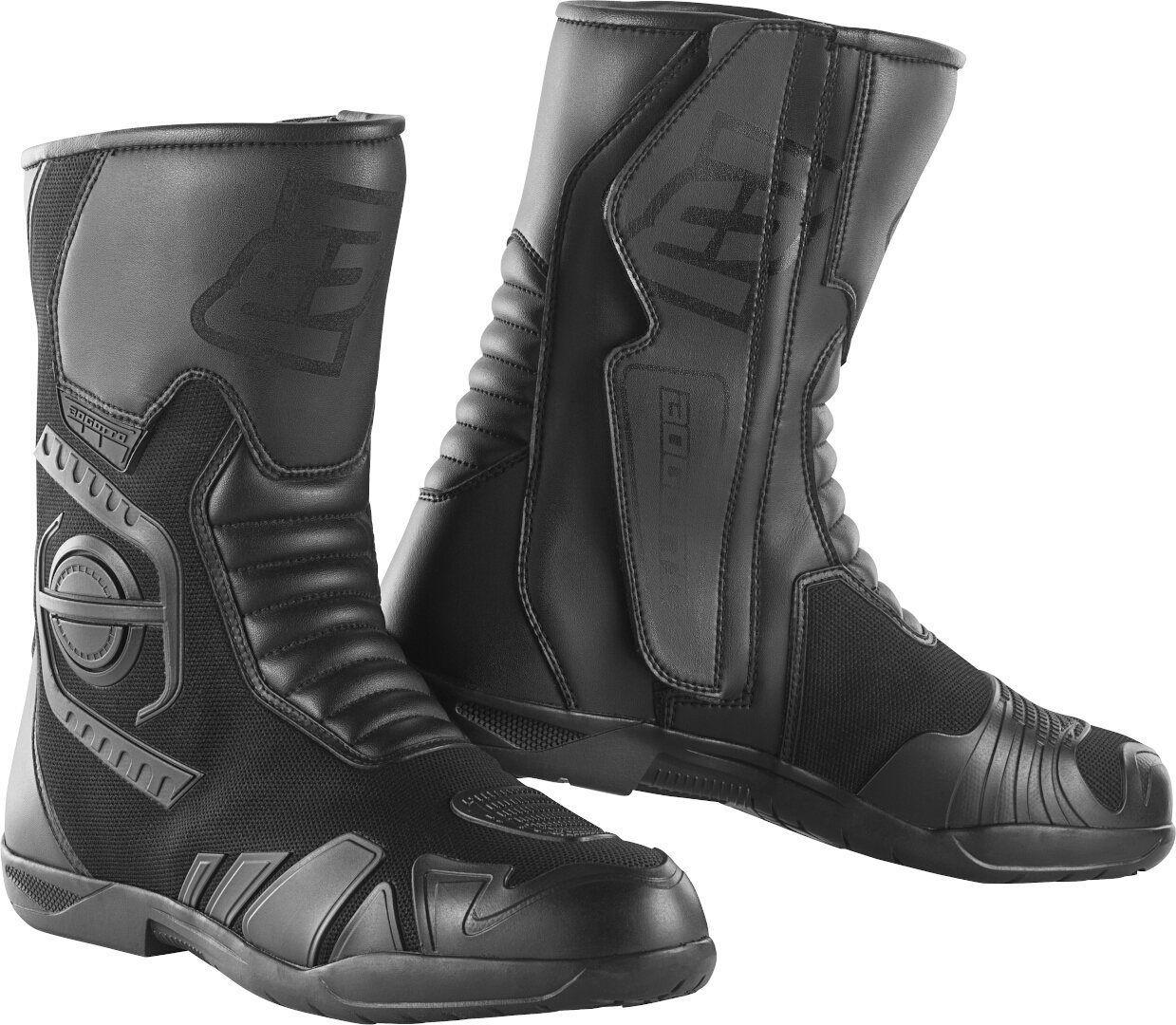 Bogotto Caracas Waterproof Motorcycle Boots Black 48