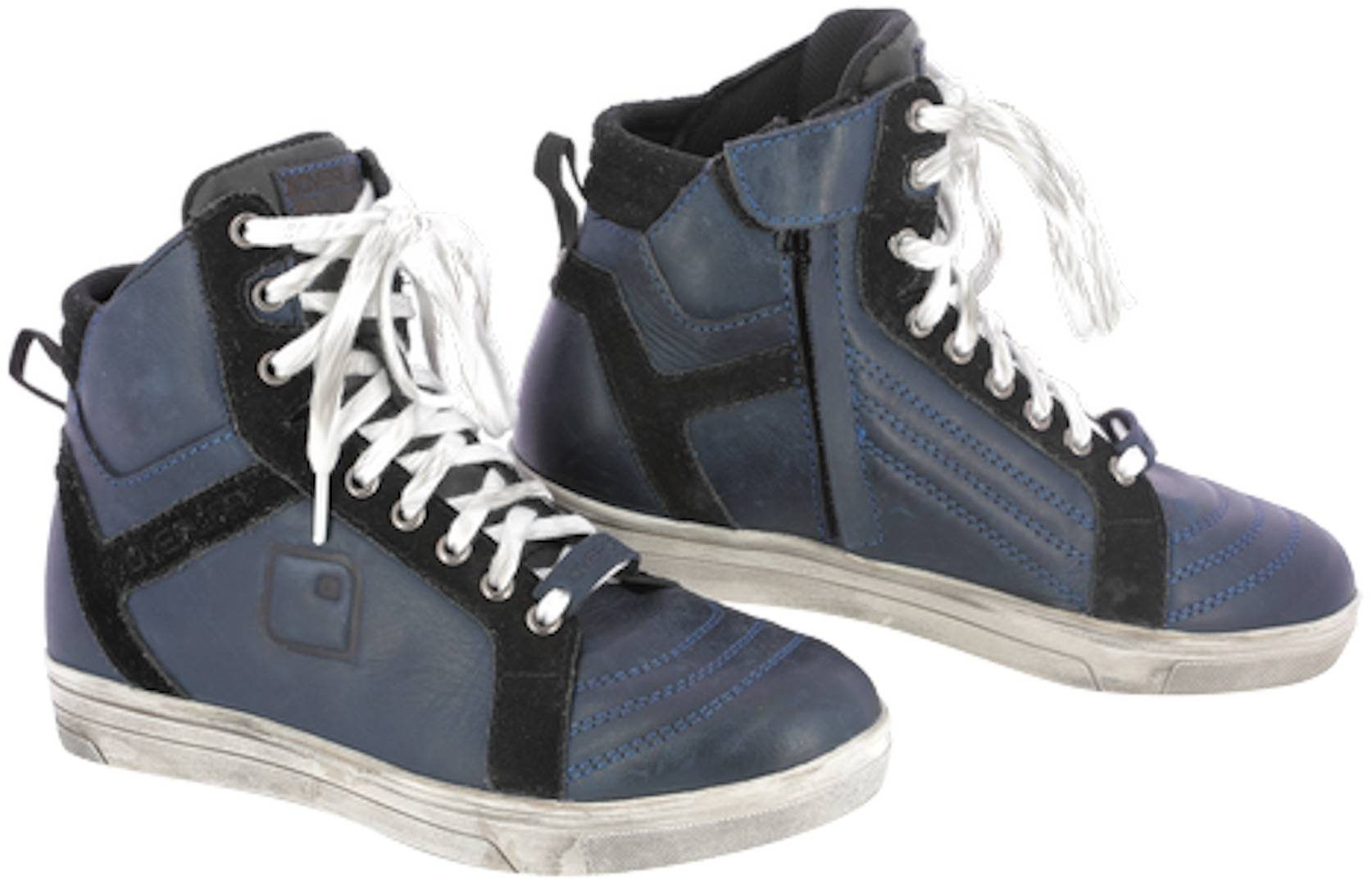 Overlap Toran Motorcycle Shoes Black Blue 37