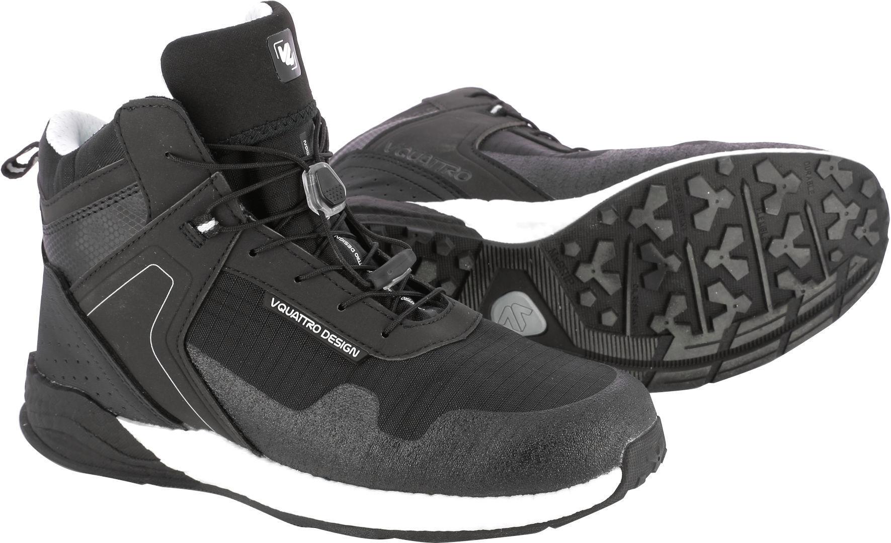 VQuattro Ridge Motorcycle Shoes Black 45