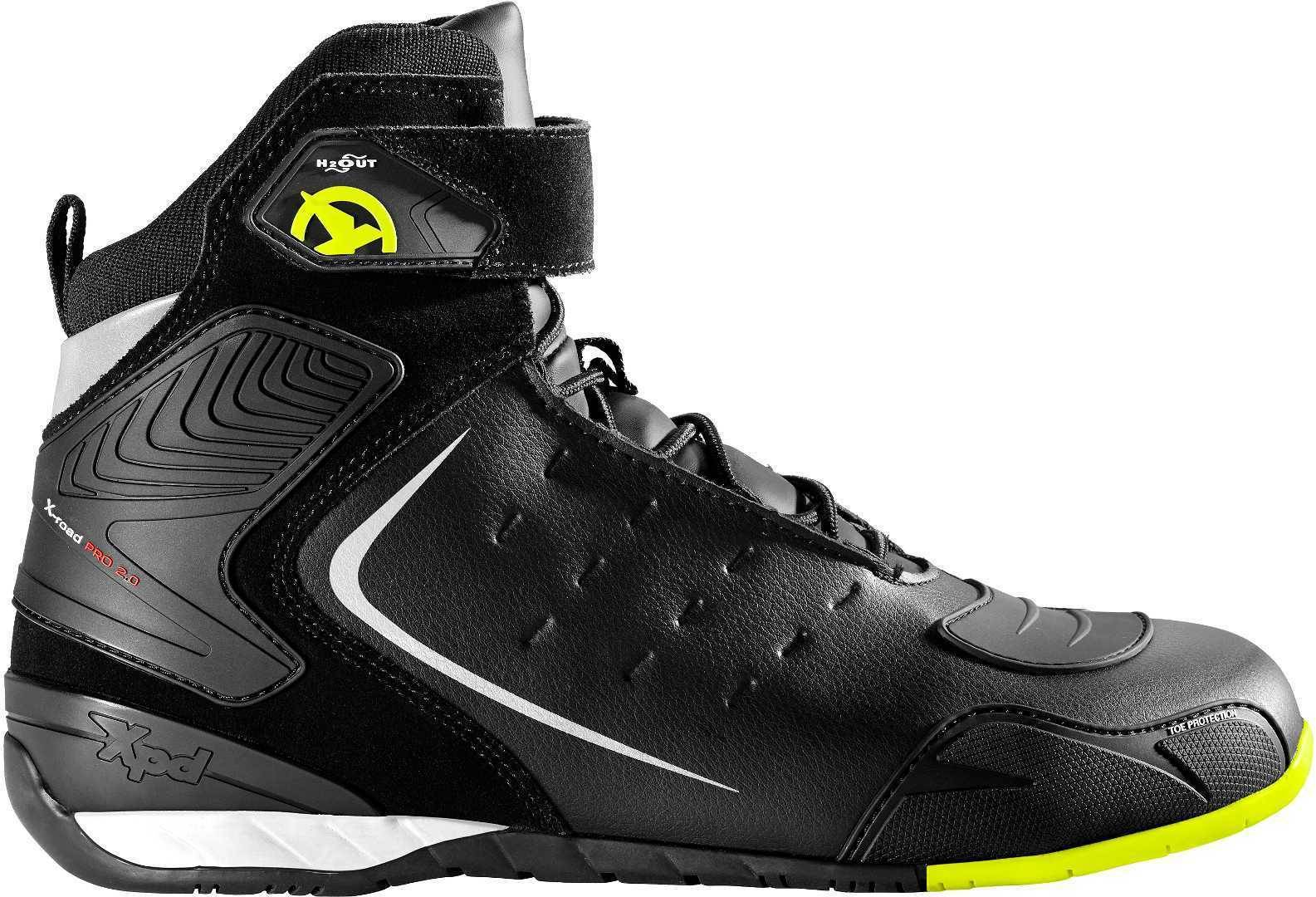 XPD X-Road H2Out Motorcycle Shoes Yellow 47