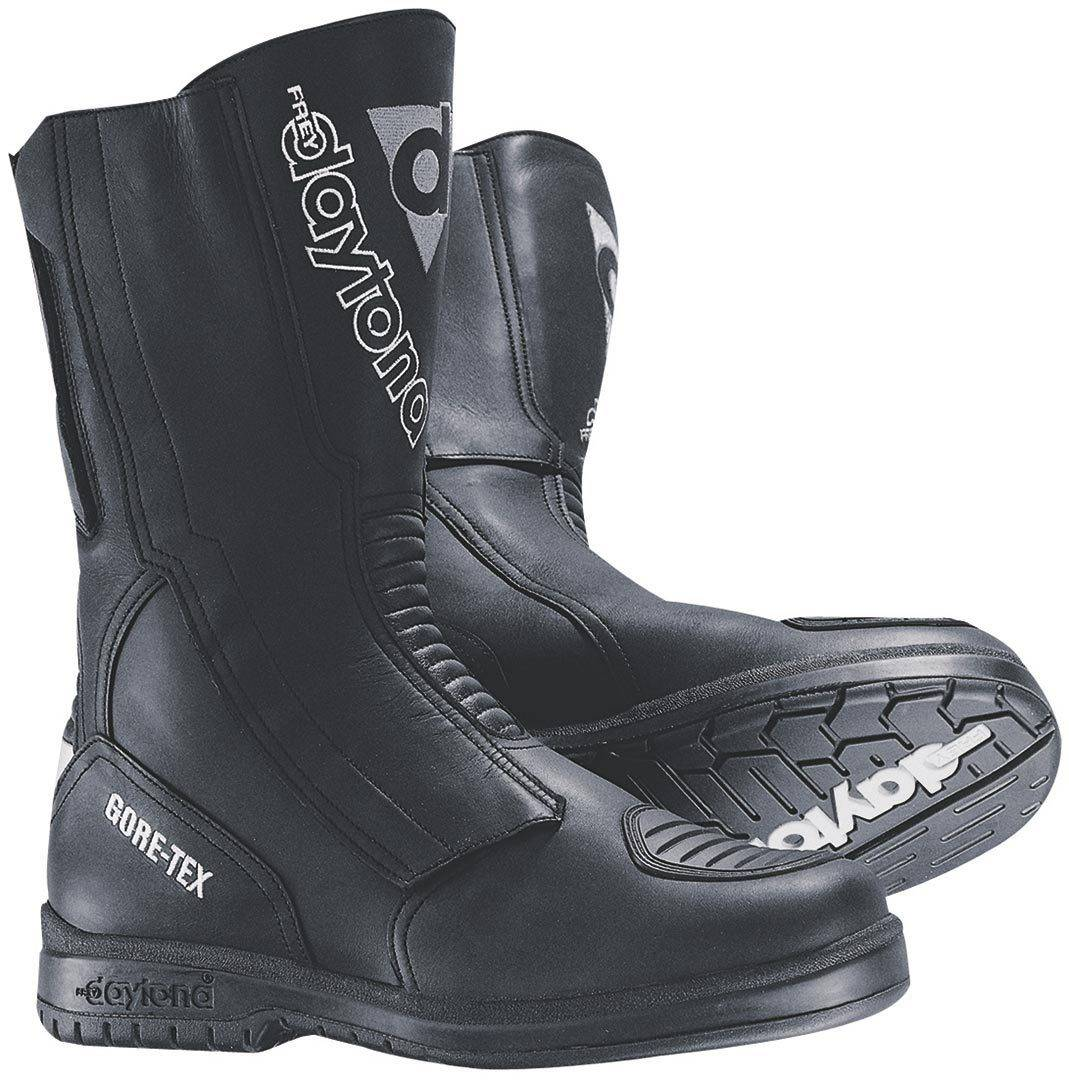 Daytona Travel Star GTX Gore-Tex waterproof Motorcycle Boots Black 44