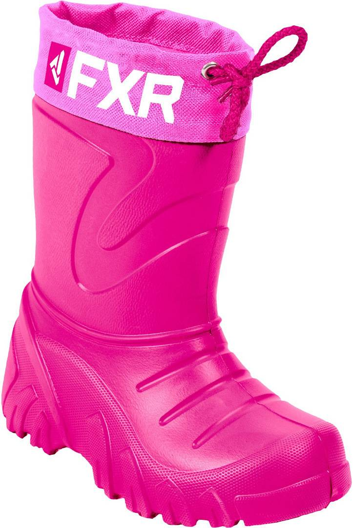 FXR Svalbard Youth Winter Boots Pink 34