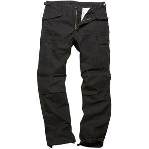 Vintage Industries M65 Heavy Satin Pants Black XL