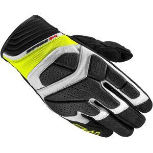 Spidi S-4 Gloves Black White Yellow L