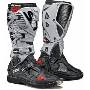 Sidi Crossfire 3 Motocross Boots Black Grey 46