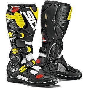 Sidi Crossfire 3 Motocross Boots Black Yellow 42