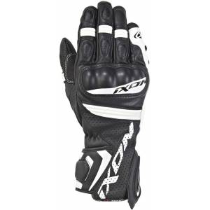 Ixon Rs Tempo Air Motorcycle Gloves Black White 2XL