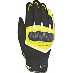 Ixon Rs Loop 2 Gloves Black White Yellow L
