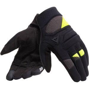 Dainese Fogal Unisex Gloves Black Yellow L