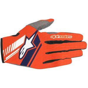 Alpinestars Neo Motocross Gloves Blue Orange S