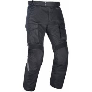 Oxford Continental Motorcycle Textile Pants Black S