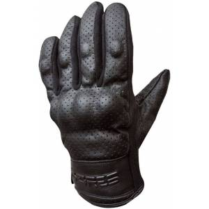 Bores Black Love Leather Gloves  - Size: 4X-Large