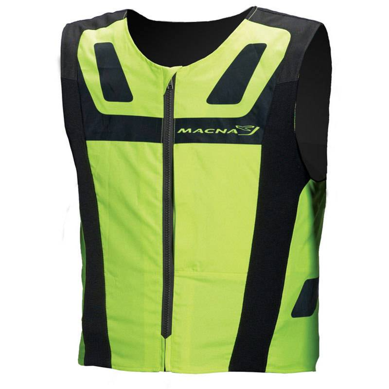 Macna Vision 4 All Plus Reflective Vest Yellow M